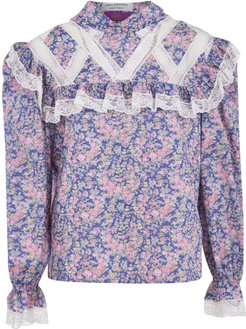All-over Floral Printed Blouse