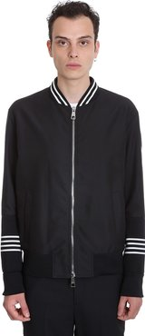 Bomber In Black Polyester