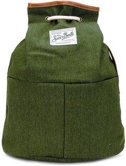 Military Green Canvas Backpack