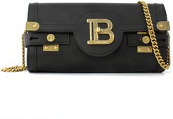 Black Leather B-buzz 23 Clutch Bag