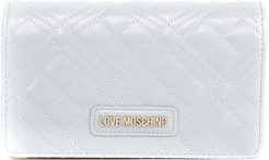 Ice Quilted Faux Leather Wallet
