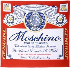 Couture Beach Towel Capsule Collection Moschino X Budweiser Bath Towel