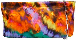 Wynona Clutch In Multicolor Synthetic Fibers