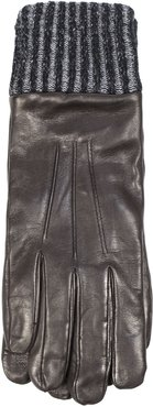 Gloves In Brown Nappa Leather