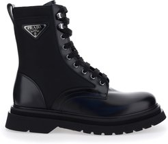 Applicated Logo Combat Boots