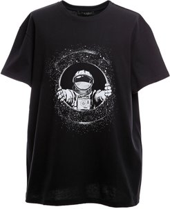 Space-inspired Oversize T-shirt For Man
