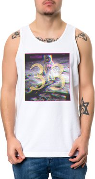The 33 Moon Man Tank Top in White