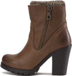 Sweaterr Ankle Boot