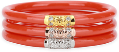 Three Kings All Weather Bangles (AWB) - Coral
