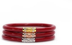 Three Kings All Weather Bangles (AWB) - Red