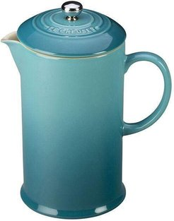 Stoneware French Press Coffee Maker