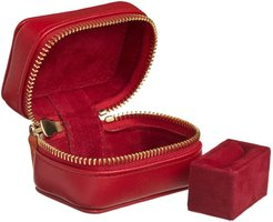 Leather Ring Box - Personalized