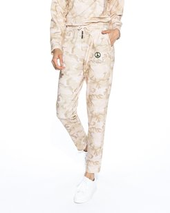 Nicole Miller Camouflage Jogger Pants   Cotton   Size Extra Large