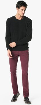 Joe's Jeans The Brixton Straight + Narrow Men's Jeans in Vintage Wine/Red | Size 42 | Cotton/Elastane