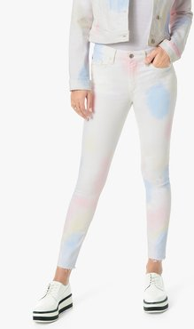 Joe's Jeans The Charlie Crop High Rise Skinny Crop Women's Jeans in Tonicia/Prints | Size 34 | Cotton/Spandex