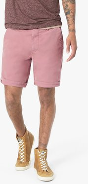 Joe's Jeans Brixton Trouser Short Mccowen Colors Men's in Desert Rose/Pink | Size 42 | Cotton/Spandex