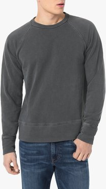 Joe's Jeans Galvin Crew Men's T-Shirt in Grease/Grey | Size XL | Cotton
