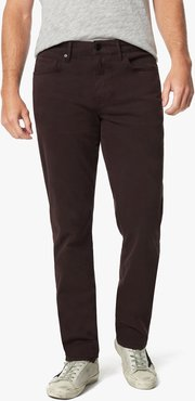Joe's Jeans The Brixton Straight + Narrow Men's Jeans in Deep Wine/Red | Size 42 | Cotton/Elastane