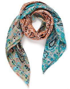 Granny Smith Foulard Scarf