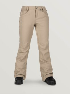 Volcom Womens Grail 3D Strch Pants - Sand Brown - Sand Brown - S
