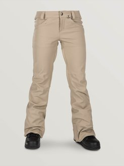 Volcom Womens Species Stretch Pants - Sand Brown - Sand Brown - XL