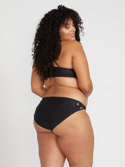 Volcom Simply Solid Full Bottom Plus Size - Black - Black - 14W