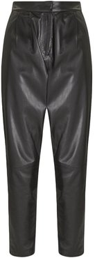 Palos Pants in Black Leather size Large