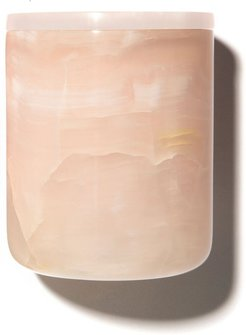 Pink Onyx Candle Vessel