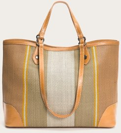 Melissa Striped Shopper
