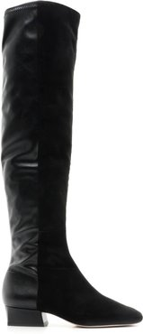 Agane Boot - 5 Black Leather & Suede