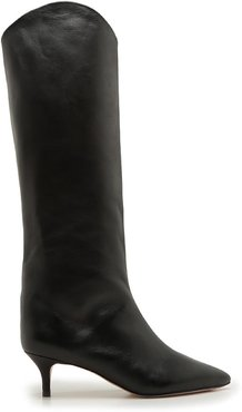 Abbey Boot - 7.5 Black Leather