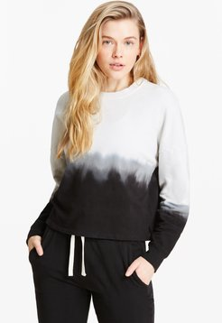 Tahoe Pullover in Onyx/Off White Bandier