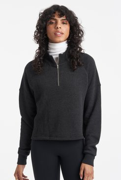 Vail Pullover in Black Bandier