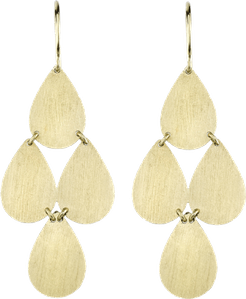 Four-Drop Chandelier Earrings