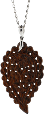 Large Snakewood India Pendant
