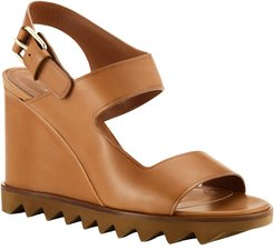 Compass High-Heel Strappy Lug Sole Sandals