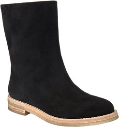 Off Duty Flat Ankle Flat Boots