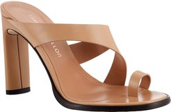 Plume Toe-Ring Sandals