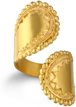 Encompass Paisley Wrap Ring - Gold