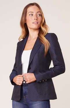 What's Dot to Like Dotted Blazer