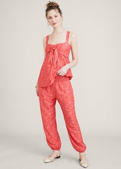HATCH Maternity The Weekend Pant, Strawberry, Size 3