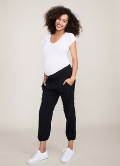 HATCH Maternity The Weekend Pant, black, Size 2