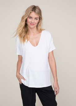 HATCH Maternity The Perfect Vee, white, Size 0
