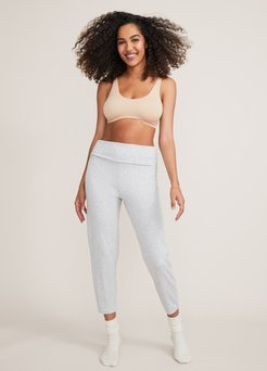 HATCH Maternity The Over/Under Lounge Pant, Heather Grey, Size 1