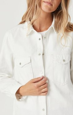 Luisa Shirt In Off White Gold Icon