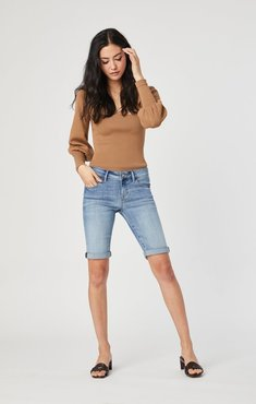 Karly Shorts In Light Foggy Supersoft