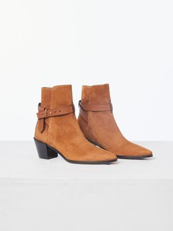 Le Beverly Bootie Whiskey Size 4.5 Us/35 EU