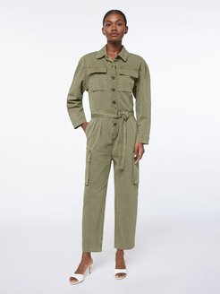 Safari Boiler Jumpsuit Washed O/D Size M