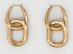 Mejuri Le Chain Earring Gold Vermeil Size Onsz