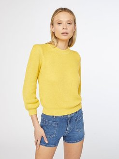 Chunky Sweater Citrine Size L